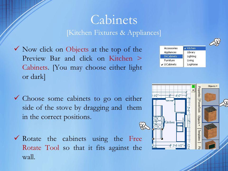 Cabinets [Kitchen Fixtures & Appliances]